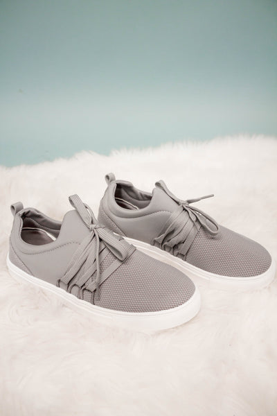 Moira Sneaker | Grey-[product_description]-[product_tag]-Stella B. Clothing