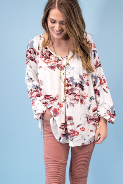 Wells Bay Floral Top-[product_description]-[product_tag]-Stella B. Clothing