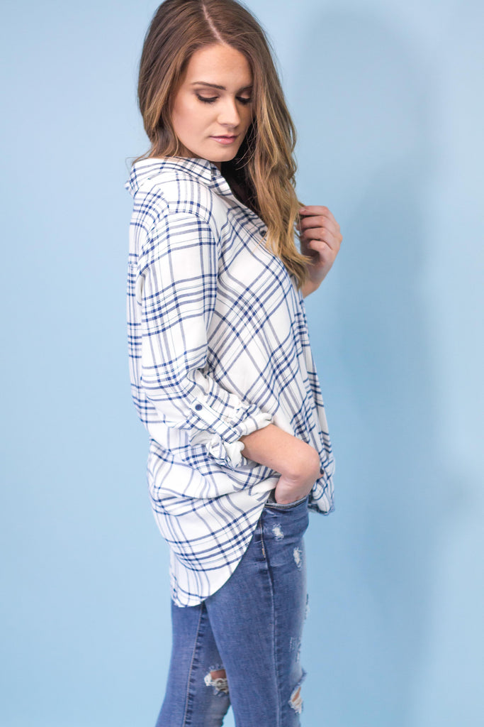 Camden Wrap Plaid Top-[product_description]-[product_tag]-Stella B. Clothing