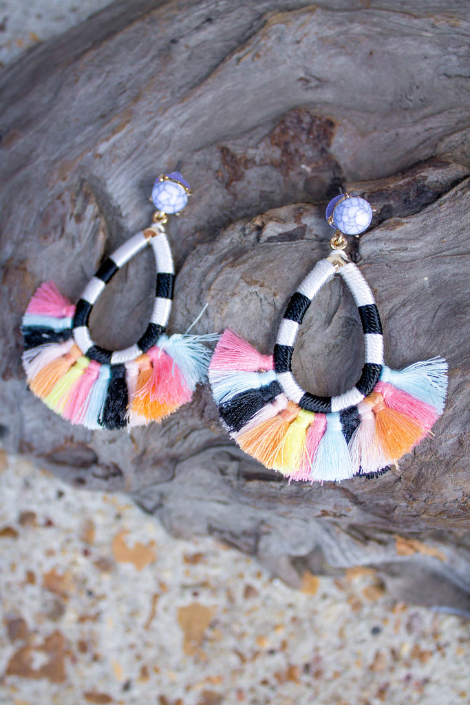 Deco 2 Tassel Earrings-[product_description]-[product_tag]-Stella B. Clothing
