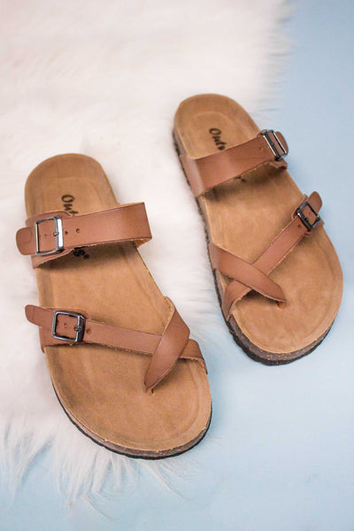 Brock Sandal- Tan-[product_description]-[product_tag]-Stella B. Clothing