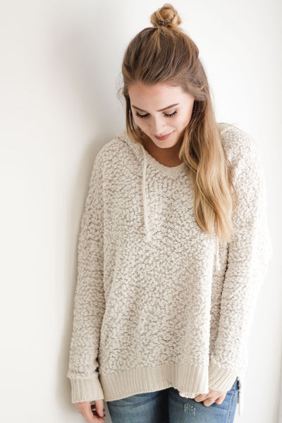 Kicking Horse Popcorn Pullover | Beige-[product_description]-[product_tag]-Stella B. Clothing