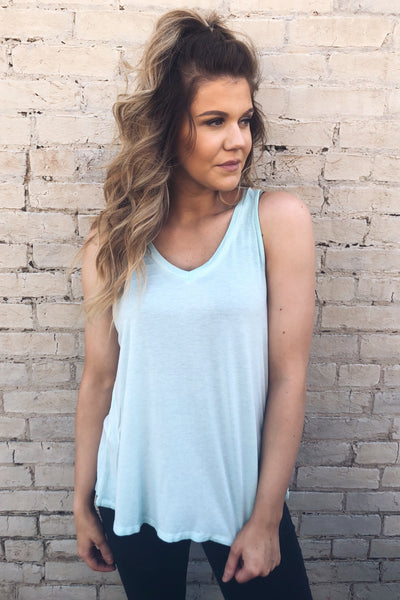 Candy Pop Mineral Washed Tank - Mint-[product_description]-[product_tag]-Stella B. Clothing