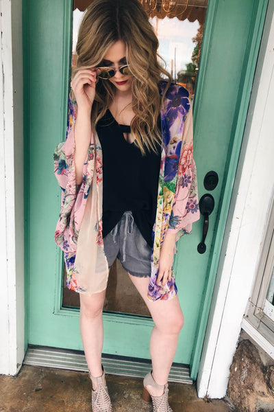 Delray Floral Kimono-[product_description]-[product_tag]-Stella B. Clothing