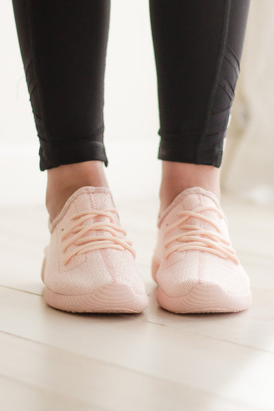 Blush Sneakers-[product_description]-[product_tag]-Stella B. Clothing