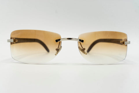 Cartier Buffalo Horn - Brown Gradient
