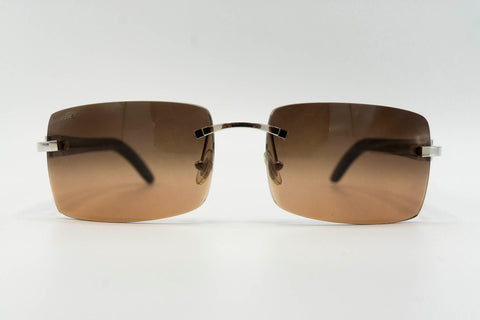 Cartier Buffalo Horn - Brown over Cognac Gradient