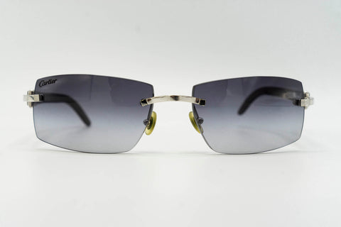 Cartier Buffalo Horn - Grey Gradient