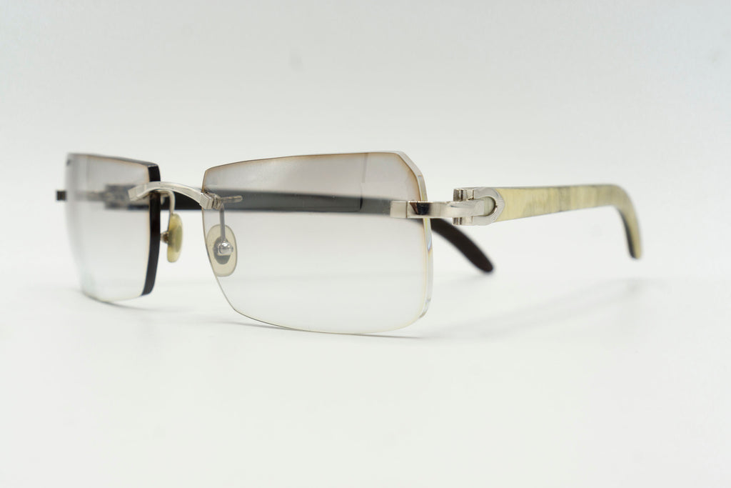Cartier Buffalo Horn - Grey Flash