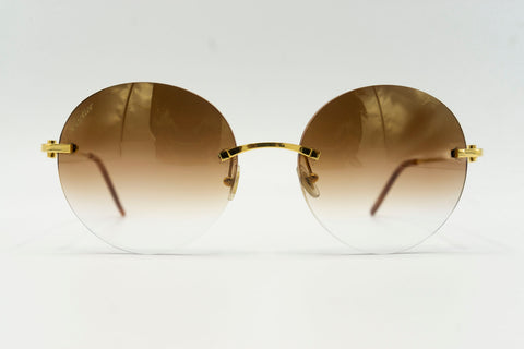 Cartier C Decor 'Horseshoes' - Brown Gradient