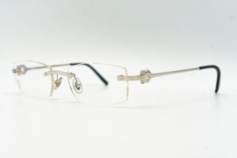 Cartier C Decor Titanium (Horseshoes) - Clear Lens