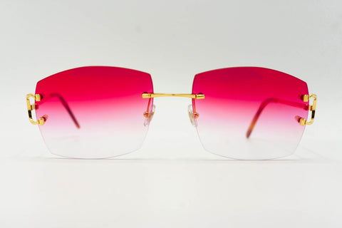Cartier C Decor - Pink Gradient
