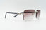 Cartier C Decor Vintage Sunglasses Purple Rimless Vintage Julz Front 3
