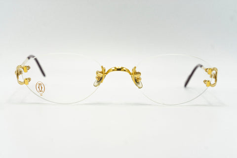 Cartier C Decor (Scala) - Clear Lens