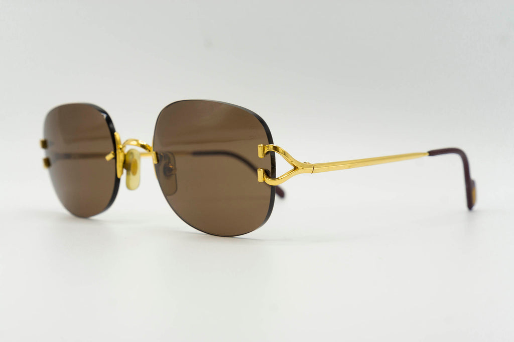 Cartier C Decor 'Scala' - Solid Brown