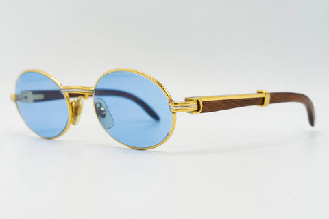 Cartier Giverny - Solid Blue
