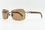 Cartier Rimless Woods 'Platinum' - Solid Brown