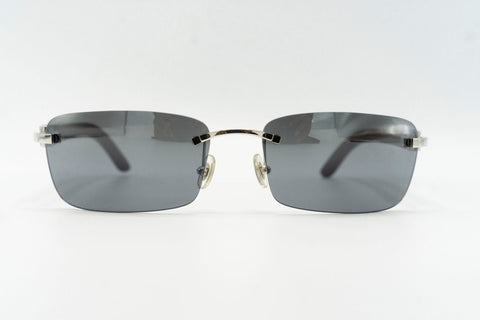 Cartier Rimless Woods (Tiger) - Grey Flash