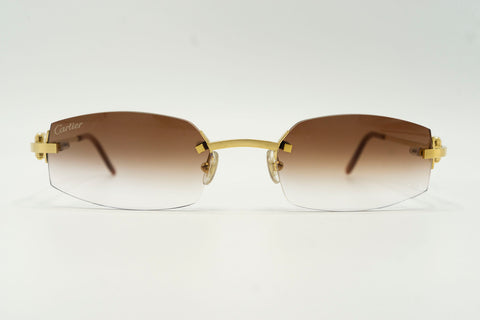 Cartier C Decor 'Horseshoes' - Cognac Gradient