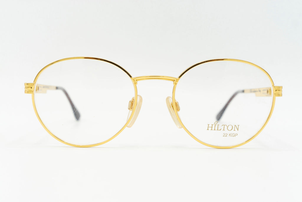 Hilton Manhattan 205 Col 1 24k Gold Plated