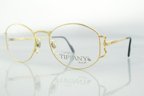 Life by Tiffany Lunettes T390 C4 23k Gold Plated