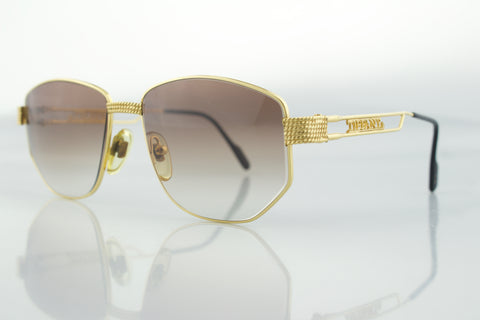 Life by Tiffany Lunettes T000 23k Gold Plated