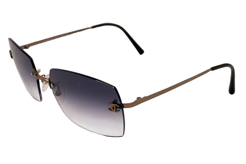 Vintage Chanel 2014 Rimless Bronze