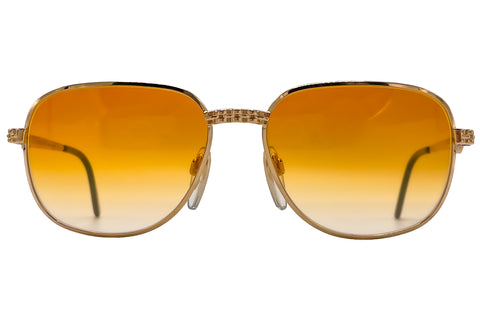 Vintage Ettore Bugatti 500 Orange Lenses