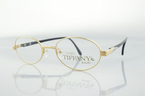 Life by Tiffany Lunettes T100 C5 23k Gold Plated
