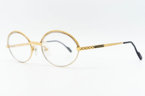 Tiffany Lunettes T000 23k Gold Plated