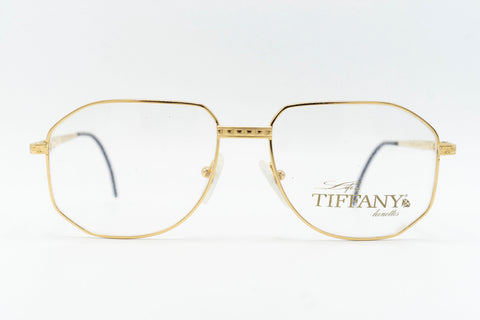 Tiffany Lunettes T129 C4 23k Gold Plated
