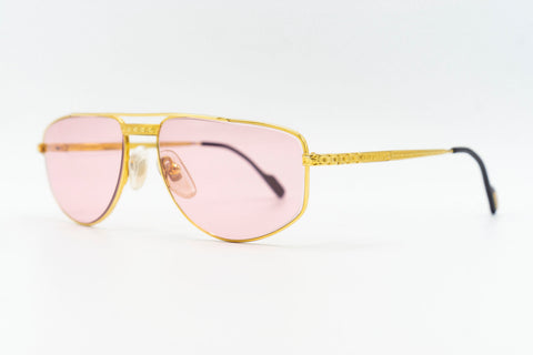 Tiffany Lunettes T133 C2 23k Gold Plated