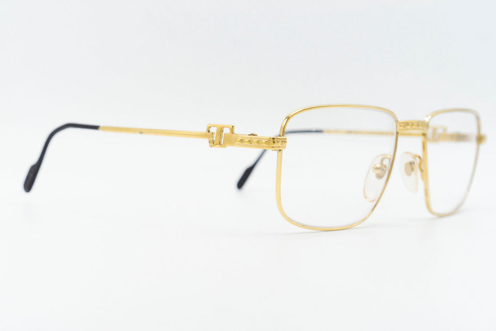 Tiffany Lunettes T2/01 C4 23k Gold Plated
