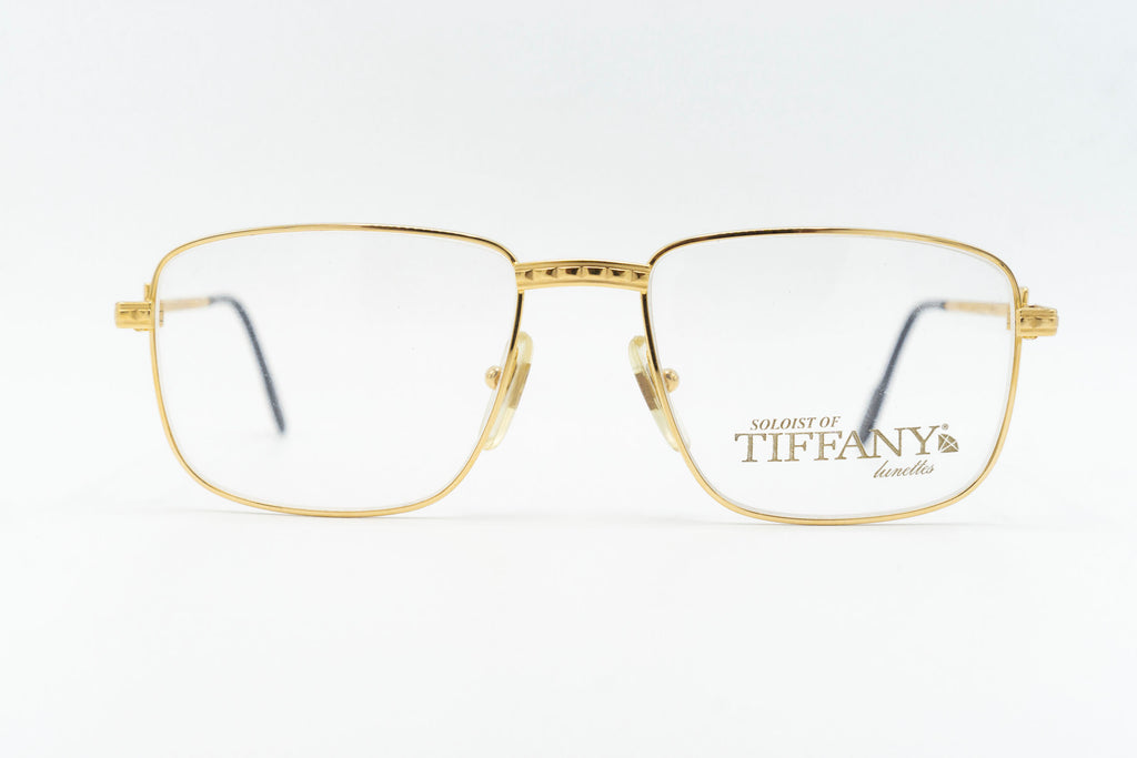 Tiffany Lunettes Soloist T2/01 C4 23k Gold Plated