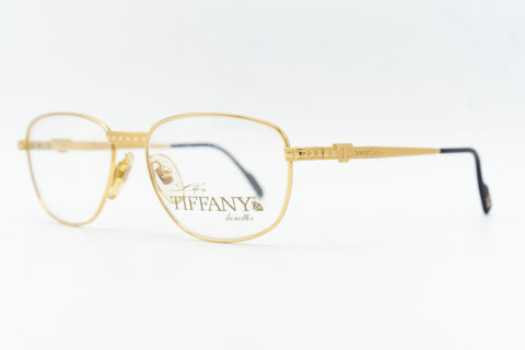 Tiffany Lunettes T327 C4 23k Gold Plated
