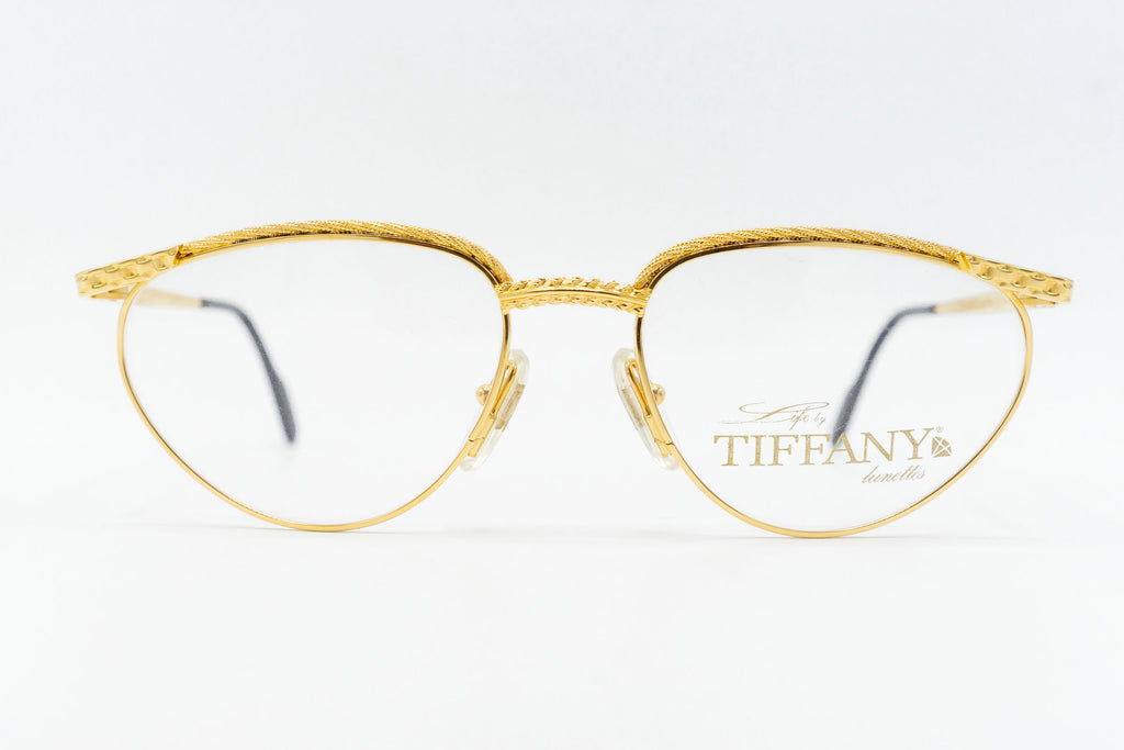 Tiffany Lunettes T340 C4 23k Gold Plated