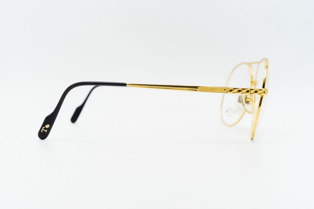Tiffany Lunettes T369 C4 23k Gold Plated