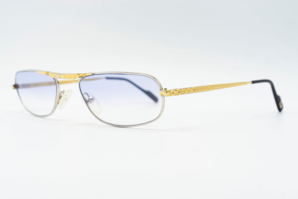 Tiffany Lunettes T378 C2 23k Gold Plated