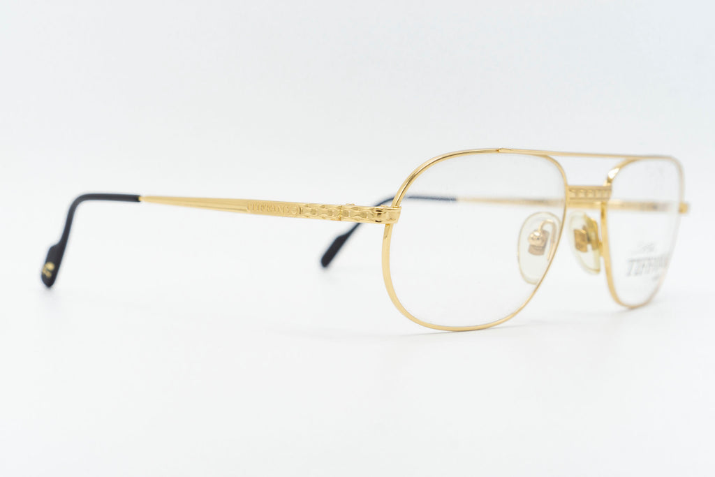 Tiffany Lunettes T396 C4 23k Gold Plated