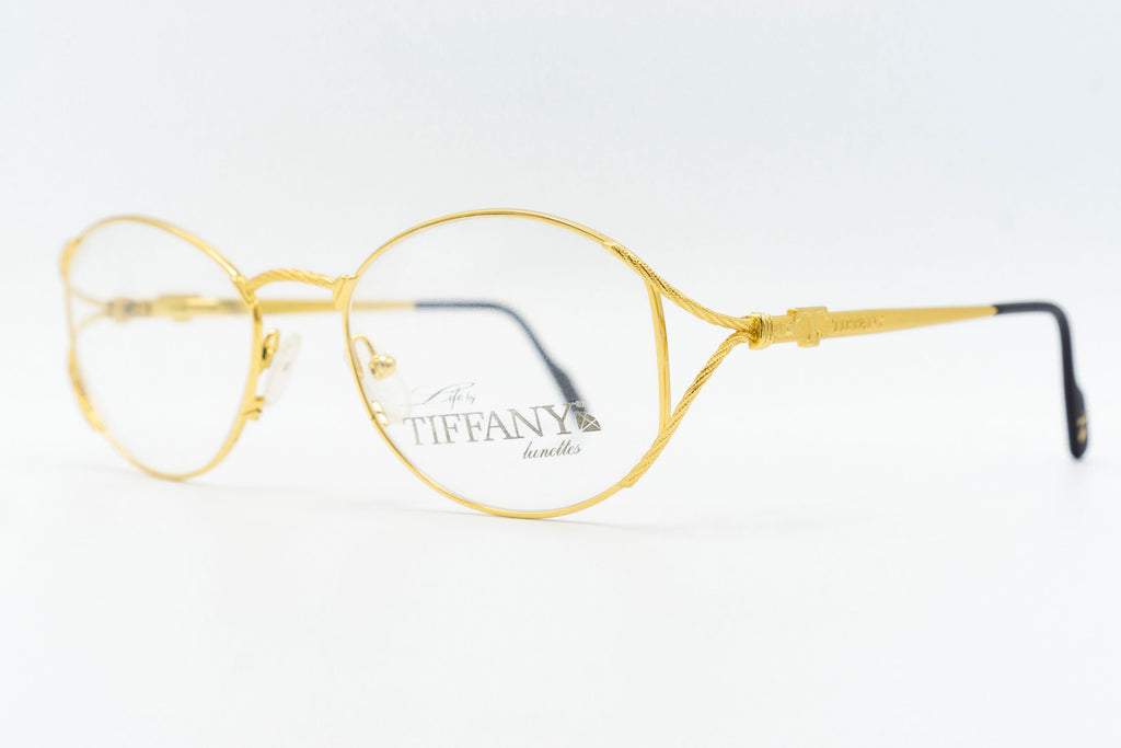 Tiffany Lunettes T410 C5 23k Gold Plated
