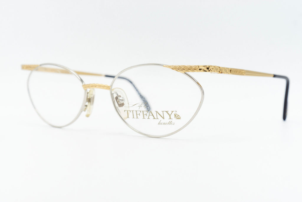 Tiffany Lunettes T423 C2 23k Gold Plated