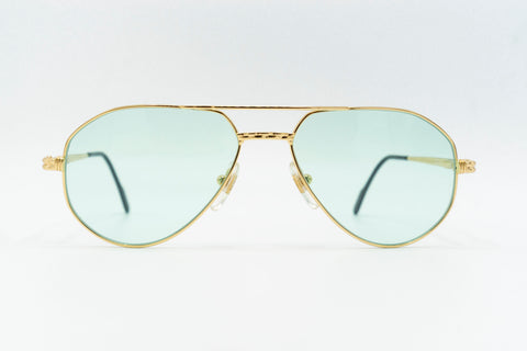 Tiffany Lunettes T456 C4 23k Gold Plated