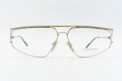 Tiffany Lunettes T51 C2 23k Gold Plated