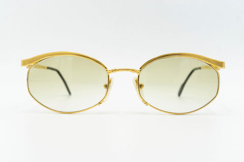 Tiffany Lunettes T544 C4 23k Gold Plated