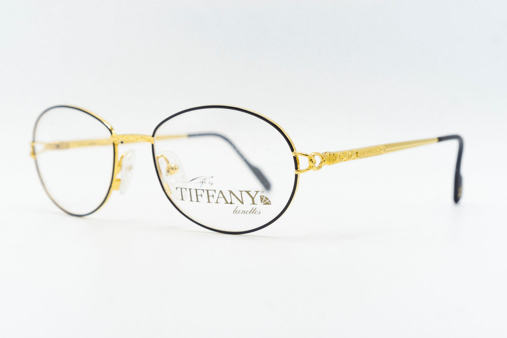 Tiffany Lunettes T551 C041 23k Gold Plated
