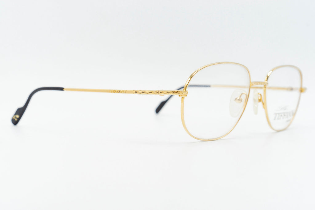 Tiffany Lunettes T563 C4 23k Gold Plated