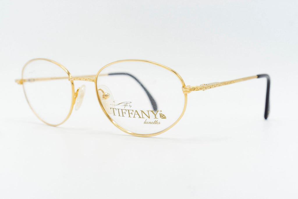Tiffany Lunettes T588 C4 23k Gold Plated