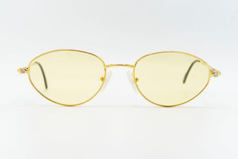 Tiffany Lunettes T682 C77M 23k Gold Plated