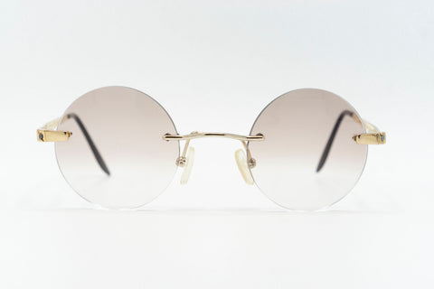 Tiffany Lunettes T804 C4 23k Gold Plated