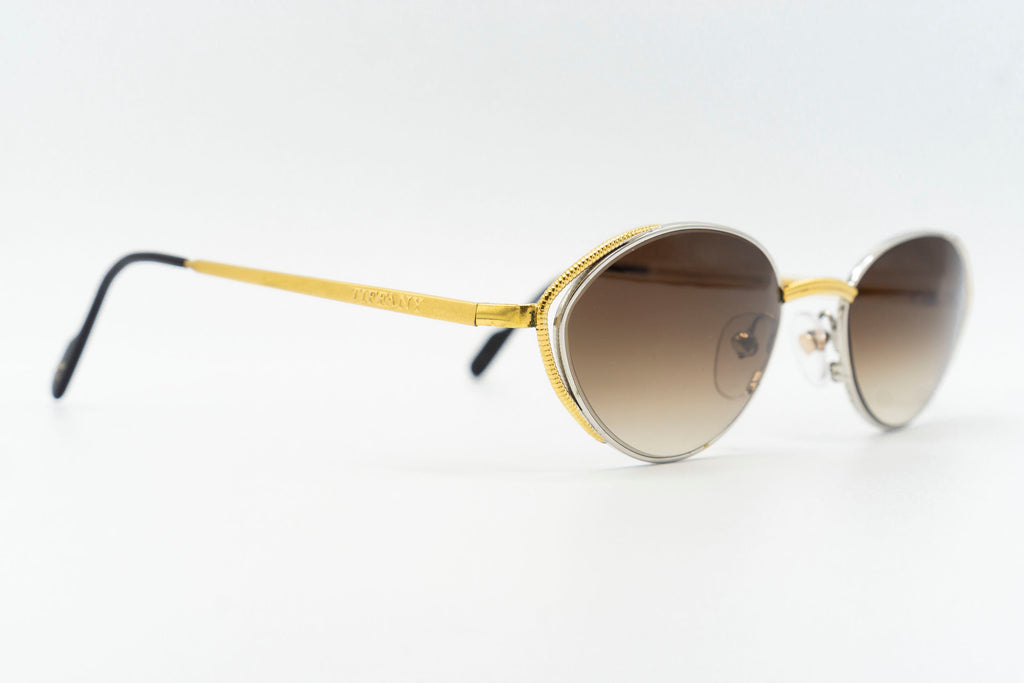 Tiffany Lunettes TJ01 C2 23k Gold Plated